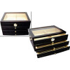 The Palermo Cigar Humidor Box & Open Box