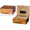 The Colonial Cigar Humidor Box & Open Box