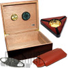 The Capri Starter Kit Cigar Humidor - Kit
