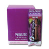 Phillies Foil Cigarillos Wine Grape upright & foilpack