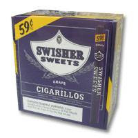 Swisher Sweets Cigarillos Grape Box - Special Promo
