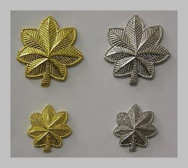 Oak Leaf-Army Major(gold)-Lt.Colonel(silver)-USA