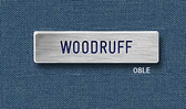 """Reeves Nametag 08LE (Most Popular) 5/8"""" x 2-1/2"""""""