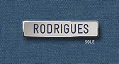 "Reeves Nametag 50LE 1/2"" x 2-1/4"""