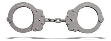 Peerless Model 730C – Superlite Chain Link Handcuff - Gray Ceramic Finish