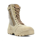 "Dura-Max 3105 Desert Tan 8"" Zipper Boot"