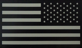 USA IR INFRARED Flag Patch (hook closure) REVERSED