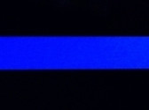 2x3 Reflective Blue Line Decal