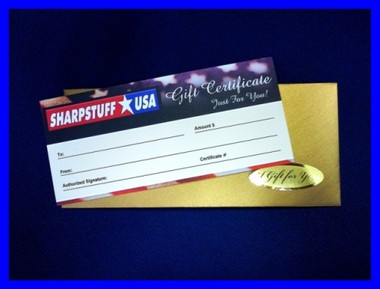 Presentation Gift Certificate $25
