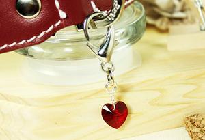 Swarovski Crystal Charm- Ruby Red