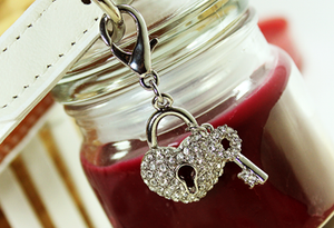 A Key To My Heart Charm