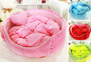 Plush Round Bed Series