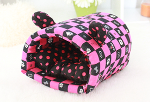 Hedgie Cave Pouch Pink