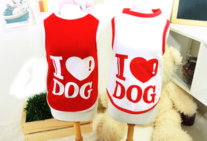 I Love Dog Sleeveless T-Shirt