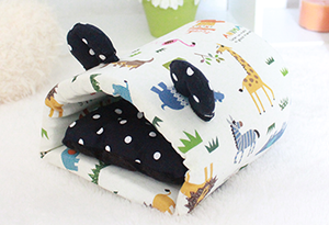 Hedgie Cave Pouch Black
