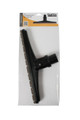 Black 15 inch hard floor Sidewinder brush with felt scallop fill and 1.5 inch neck in a retail package.
