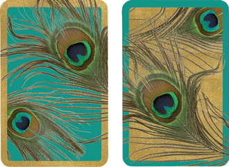 Playing Cards Peacock - Regular Type