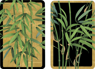 Playing Cards Bamboo Trees - Regular Type