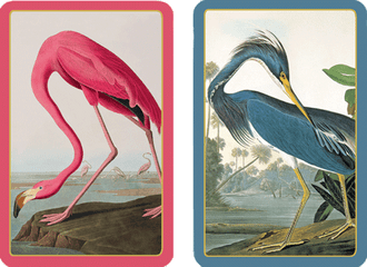 Playing Cards Audubon Birds - Large Type