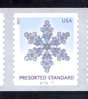 Scott # 4808-12 Plate # C11111111 (.10) Snowflakes   PS11