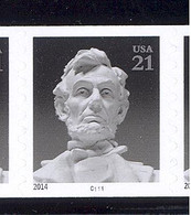 Scott # 4861 Plate # C111 .21 Abraham Lincoln - VP/PV