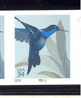 Scott # 4858 Plate # P22222 .34 Hummingbird