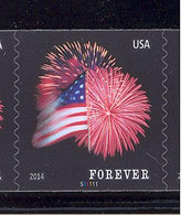 Scott # 4868 Plate # S11111 Star-Spangled Banner forever