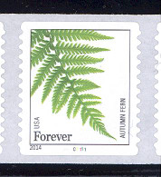 Scott # 4874-78 Plate # C11111 Ferns forever   PS11