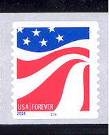 Scott # 4894-97 Plate # C11 Red, White and Blue forever PS9