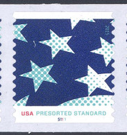 Scott # 4961-63 Plate # S111 (.10) Stars and Stripes PS7