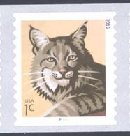 Scott # 4672a Plate # P1111 .01 Bobcat - 2015