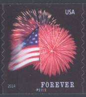 Scott # 4854 Plate # P2222 Star-Spangled Banner forever