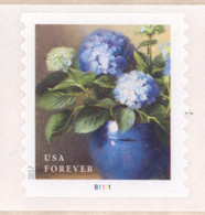 Scott # 5233-36 Plate # B1111 Flowers PS9