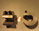 8.0 ounce steel balancing C-clamp
