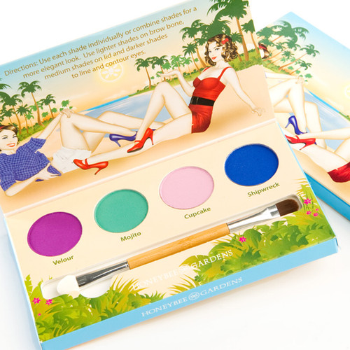 Honeybee Gardens Party Girl Eye Shadow Palette