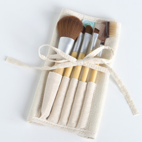 Eco-Friendly Professional Cosmetic Brush Set