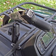 ATV mounted custom KYDEX holster and a RAM Mount