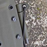 Ferrocerium Firesteel Rod and Attachment (side mount)