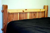 Post Cedar Plank Bed