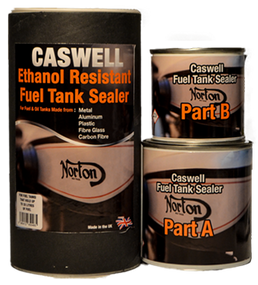 Clear Ethanol Proof Fuel Tank Sealer for Tanks up to 33 Litres