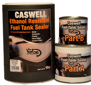 Clear Ethanol Proof Fuel Tank Sealer Kit for tanks up to 15 Litres