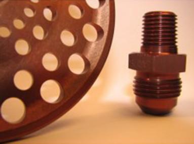 Bronze Anodizing Dye