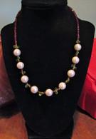Pearl - Peridot - Garnet