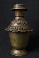 19th Century Newari Bronze Vase, Kathmandu Valley
