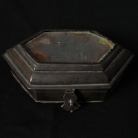 Bronze Newari Tika Box  Nepal