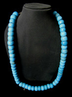 Necklace Blue Antique Beads Burma