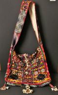 Vintage Embroidery Banjara Strap Tote Bag