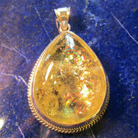 SOLD-Yellow Beryl Pendant