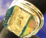 ROMAN GLASS RING Size 7-SOLD
