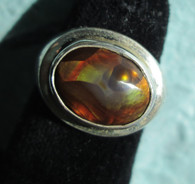 Mexican Fire Agate #4 (Size 8)